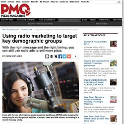 Radio Marketing for Pizzerias