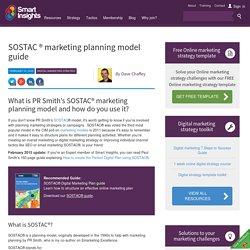 SOSTAC ® marketing planning model guide