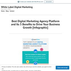 Best Digital Marketing Agency Platform and Its 5 Benefits to Drive Your Business Growth