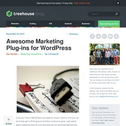 Marketing plug-ins for WordPress