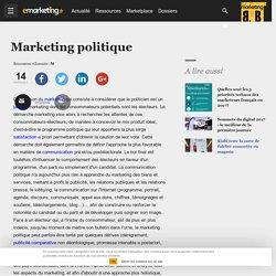 Marketing politique - Définition du glossaire