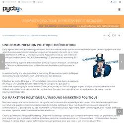 Le marketing politique: entre stratégie et idéologie?