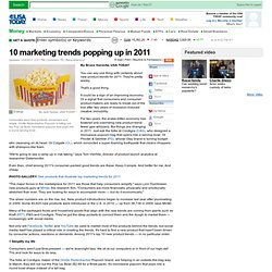 10 marketing trends popping up in 2011