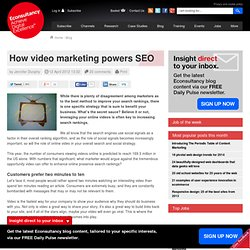 How video marketing powers SEO