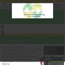 #Digital Marketing Job Oriented Practical Training Institute