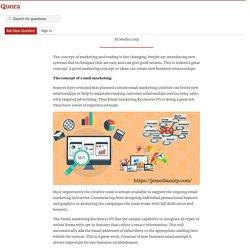 The Impact of E Mail Marketing On Present Trade - Jemedia Corp - Quora