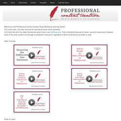Email Marketing Learning Center