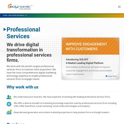 Digital Marketing Services for Professional Services Firms
