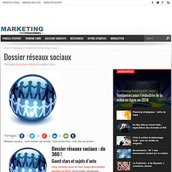 Dossier réseaux sociaux