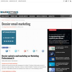 Dossier email marketing
