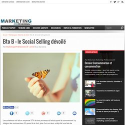 Le Social Selling, pour mieux vendre en BtoB
