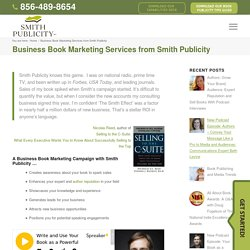 Business Book Promotion by Smith Publicity