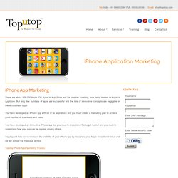 iPhone Application Marketing