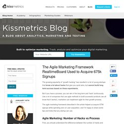 The Agile Marketing Framework RealtimeBoard Used to Acquire 675k Signups