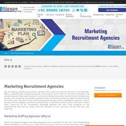 Marketing Recruitment Agencies - Top Marketing Agencies