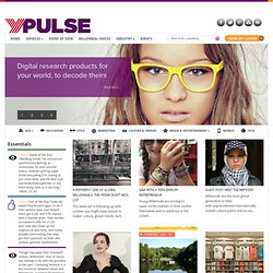 Ypulse: Youth Marketing, Youth Media, Youth Research, Youth Insights - teens, tweens & Generation Y (Gen Y)