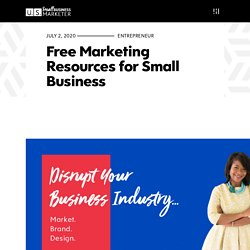 Free Marketing Resources for Small Business - US Small Business Marketer