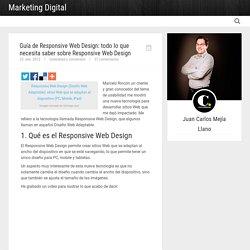 Guía de Responsive Web Design: todo lo que necesita saber sobre Responsive Web Design