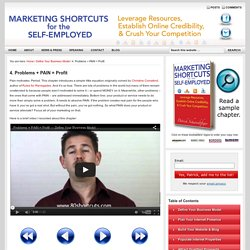 Marketing Shortcuts for the Self-Employed, by Patrick Schwerdtfeger
