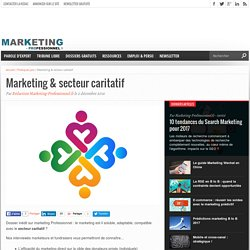 Marketing & secteur caritatif