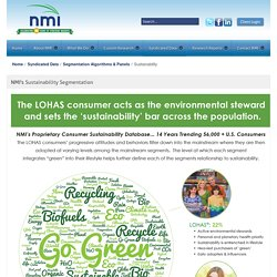 Natural Marketing Institute (NMI) - LOHAS Segmentation