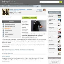 Marketing RH - sélection d'articles