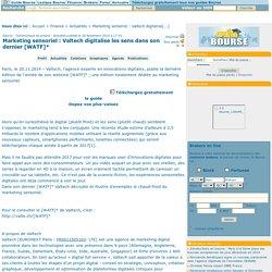 Marketing sensoriel : Valtech digitalise les sens dans son dernier [WATF]*