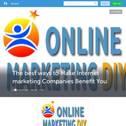 The best ways to Make Internet marketing Companies Benefit You (with image) · seoexpertomaha