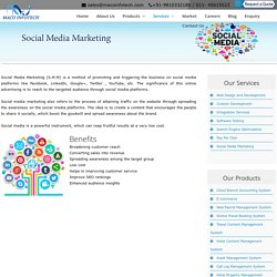 Social Media Marketing Company - Maco Infotech Ltd