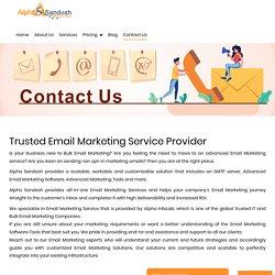 Bulk email marketing service providers