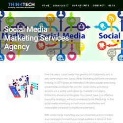 Social Media Marketing Services, Advertising Agency Calgary & Edmonton