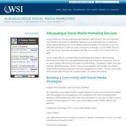 Social Media Marketing Services in Albuquerque - WSI