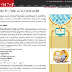 Search Engine Marketing Services Bangalore - Vistas Ad Media