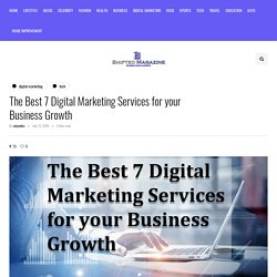 Best Digital Marketing Services for your Business Growth