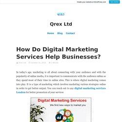 How Do Digital Marketing Services Help Businesses?