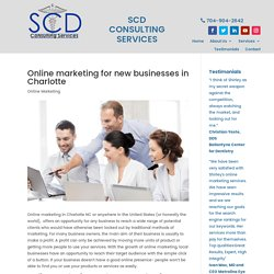 Online marketing services in Charlotte, NC help your business to grow