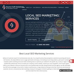 Best Local SEO Marketing Company to Provide Local SEO Services