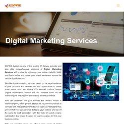 Digital Marketing Services - SEO, SMM and Web Development - ESPL