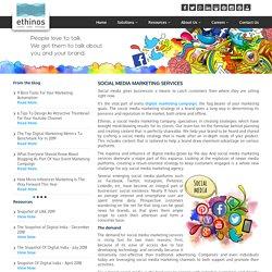 Social Media Marketing Services India