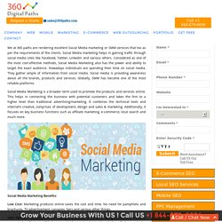 Best Social Media Marketing Company in India - 360 Digital Paths