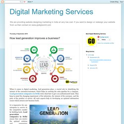 Digital Marketing Services: How lead generation improves a business?
