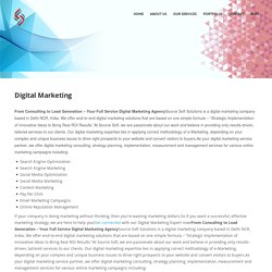 Online Digital Marketing Services Agency