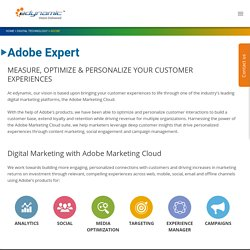 Adobe Marketing Solutions - edynamic