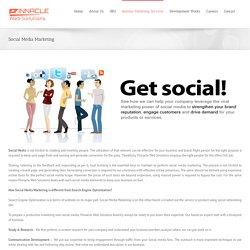 Social Media Marketing Services, Facebook Marketing, Twitter Marketing, LinkedIn Marketing Services At Pinnacle Web Solutions