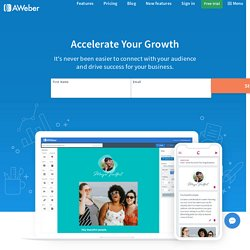 Email Marketing Software, Email Newsletters and Autoresponders by AWeber