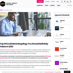 Top 10 Email Marketing Blogs You Should Definitely Follow In 2020