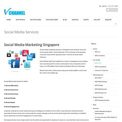 Social Media Management Services Singapore
