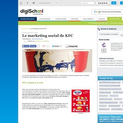 Le marketing social de KFC : Marketing, Communication