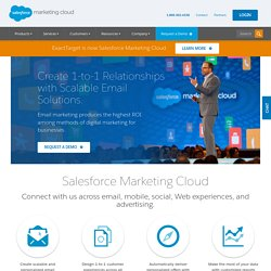 Social Media & Email Marketing Software & Services | ExactTarget