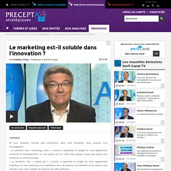 Le marketing est-il soluble dans l'innovation